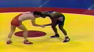 1993 Senior World Championships: 82 kg Saiguid Katinovasov (RUS) vs. Kevin Jackson (USA)