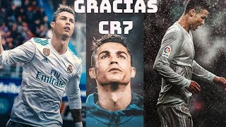 Adiós Cristiano Ronaldo - Real Madrid 2009 - 2018  | Goodbye CR7