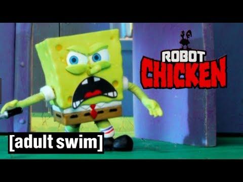 Xxx Mp4 Achtung TRIGGERGEFAHR Spongebobs Krabbenburger Robot Chicken Adult Swim 3gp Sex