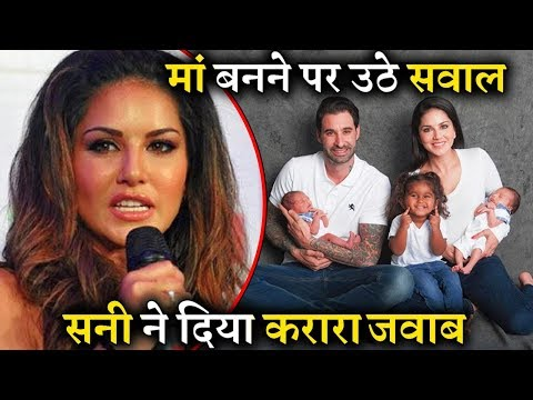 Xxx Mp4 People Trolls Sunny Leone How She Became Mother She Gave Epic Reply 3gp Sex