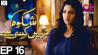 Shikwa Nahi Kisi Se Episode 16 | Aplus ᴴᴰ | Top Pakistani Dramas