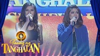 Tawag ng Tanghalan: Lalainne Araña and Gidget Dela Llana | Waray Waray (Day 4 Semifinals)