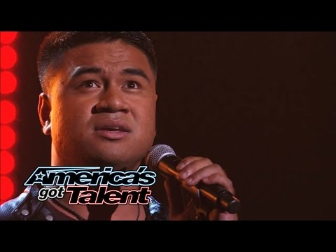 "Paul Ieti: American Soldier Cover One Direction's ""You & I"" - America's Got Talent 2014"