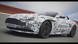 On-track in the Aston Martin DB11
