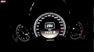 E 63 AMG Performance Package 0-307 km/h Top Speed Test Mercedes 2012 sport auto