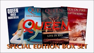 [112] Queen Live - Special Edition DVD Box Set (2013)