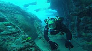 Mergulho no Naufrágio Vapor Bahia- Ponta de Pedras - Pernambuco - Brazil