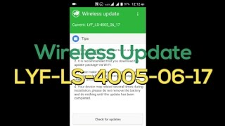 Lyf Flame 6 Wireless Update LS-4005-06-17||Play Store Stop Working!!! Root gone!!!
