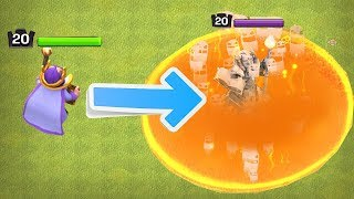 KILL HEROES!!! WILL IT WORK!?! | Clash of clans | ALL POISON SPELLS!!!