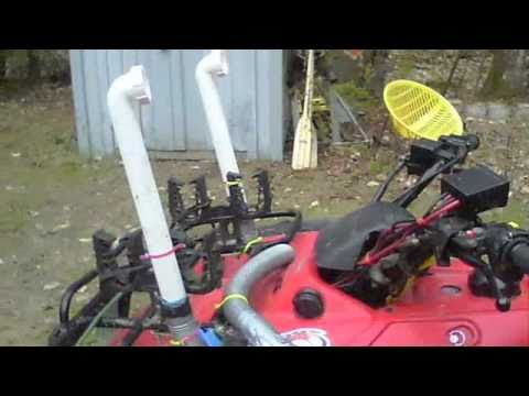 Making and Testing ATV Snorkel