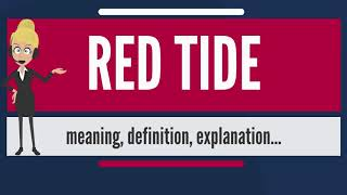 What is RED TIDE? What does RED TIDE mean? RED TIDE meaning, definition & explanation