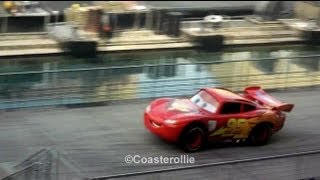 Lightning McQueen in Lights Motors Action Extreme Stunt Show at Hollywood Studios WDW (HD)