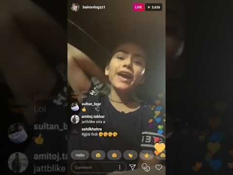 Xxx Mp4 Calli Wali Bains Latest Live Instagram Vs Jatt Blike 3gp Sex