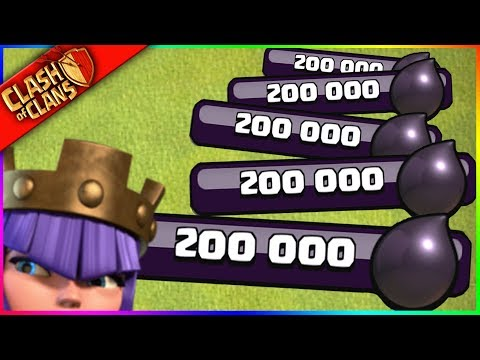 I HAVE TOO MUCH DARK ELIXIR. yes that s possible