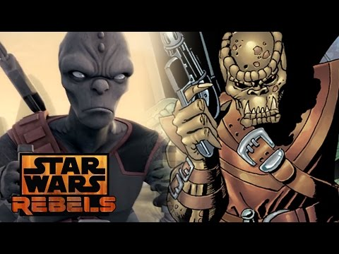 Rukh and the Noghri in Star Wars Rebels Canon vs Legends