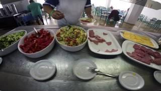 June 2015. Tunisia, Sousse, Hotel Jinene, All Inclusive, Breakfast