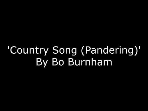 Bo Burnham - Country song (Pandering) - LYRICS [HD]