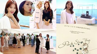 Park Shin Hye at the Atelier Swarovski Lunch during the 70th Annual Cannes Film Festival