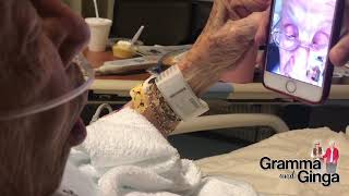 G&G Gramma and Ginga FaceTime At The Hospital | Gramma And Ginga