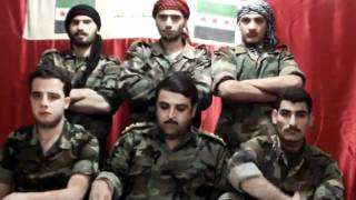 Defection of captain Ammar Al-Aswad and other soldiers - FSA