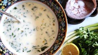 Armenian Yogurt Soup Spas Recipe - Սպաս - Heghineh Cooking Show