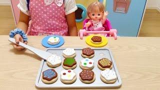 メルちゃん おままごと クッキーセット / Mell-chan Doll Cooking Toys , Bake Cookie Set