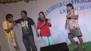 Tukel Dekha Durga Puja  comedy 3 in Gandhichowak