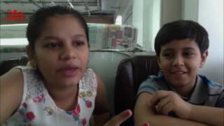 DHANAK Movie: Interview with kids Pari & Chotu