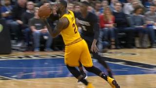 LeBron James SICK No-Look, Between-the-Legs Assist | 02.14.17