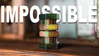Solving The IMPOSSIBLE Nut & Bolt Puzzle!!