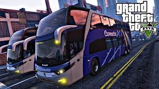 GTA 5: Mod Bus - Viagem com ônibus da cometa