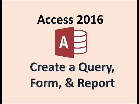 Xxx Mp4 Access 2016 Create A Query Form And Report How To Make Queries Forms Reports In Design View 10 3gp Sex