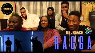 Gemini Major Ft. Riky Rick, Cassper Nyovest, Nadia Nakai - Ragga Ragga ( UK GUYS REACTION )