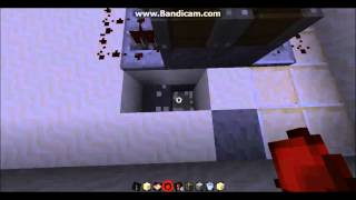 Minecraft: how to make a hidden bridge for water and lava