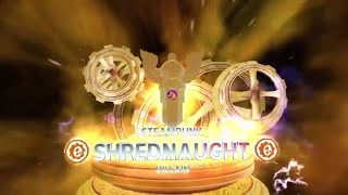 Skylanders: steampunk shrednaught and superchargers poster