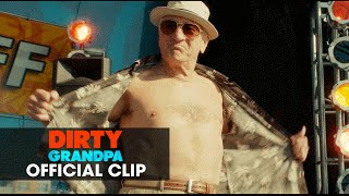 "Dirty Grandpa (2016 Movie - Zac Efron, Robert De Niro) Official Clip – ""Flex Off"""