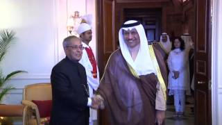 PRIME MINISTER OF KUWAIT CALLS ON THE PRESIDENT - 09-11-2013