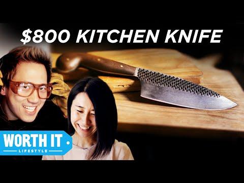 8 Kitchen Knife Vs. 800 Kitchen Knife