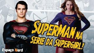Superman vai aparecer na 2 temporada de Supergirl e o crossover gigante de quatro noites.