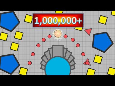 1,000,000+ Points | Spread Shot ex-WORLD RECORD | Diep.io