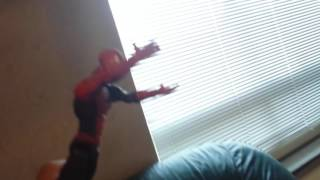 Spiderman action toy movie part 1/5