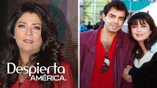 Victoria Ruffo revela cómo se lleva realmente con Eugenio Derbez