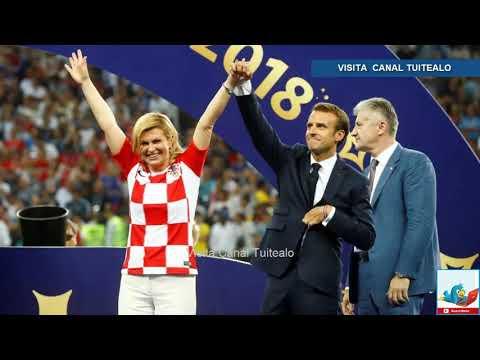 Xxx Mp4 Ejemplo De Deportividad De La Presidenta De Croacia Kolinda Grabar Kitarovic Con Macron En Rusia 201 3gp Sex