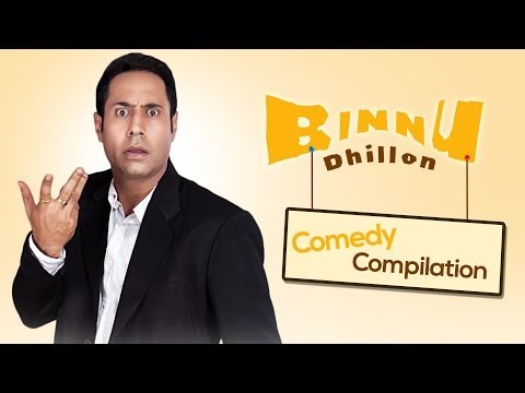 Best of Binnu Dhillon Comedy compilation 2013 2014 Punjabi Comedy Sagahits