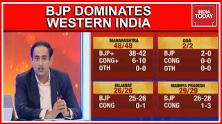 India Today Exit Poll 2019 | BJP Dominates Western India