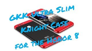 GKK Ultra Slim Knight Case for the Honor 8 Review