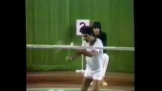 1982 Asian Games Badminton- Men's Singles Preliminaries clips