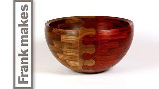 Wood Turned Wedding Bowl