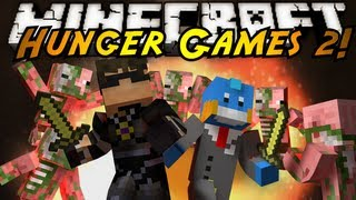 Minecraft Mini-Game : HUNGER GAMES 2!
