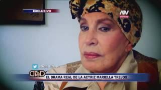 El drama real de la actriz Mariella Trejos